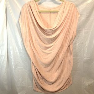 Lane Bryant Cowl Shimmer Top Rouched Side 18/20